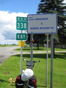Day 4 -Quebec Ontario Border (shot from Ontario side)