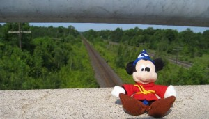 Day 2 - Mickey and the Rails
